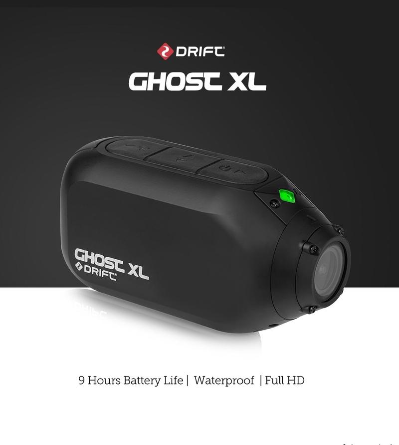 휴대용 4K 미니 오토바이 액션캠 드리프트 고스트 XL 액션 카메라 스포츠 Vlog 7, 표준 포장