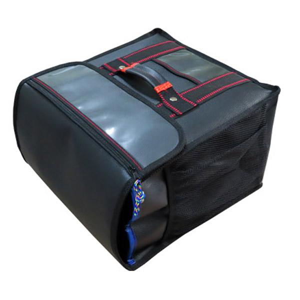 대성ENG 치킨가방 대 검정고급형 배달가방 35X35x24cm, 검정
