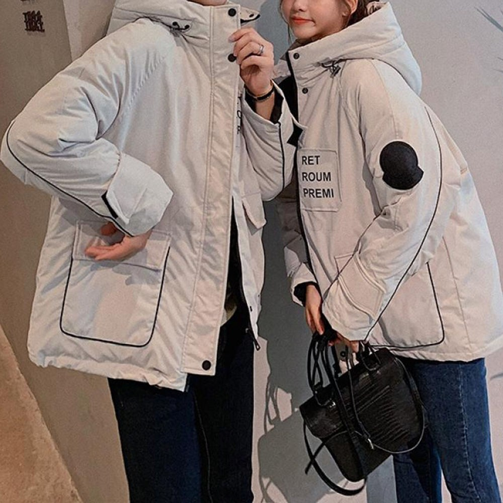 kirahosi 남여 패딩 패션 트렌드 커플 야상 캐주얼 363호+덧신증정 BIti4m4i