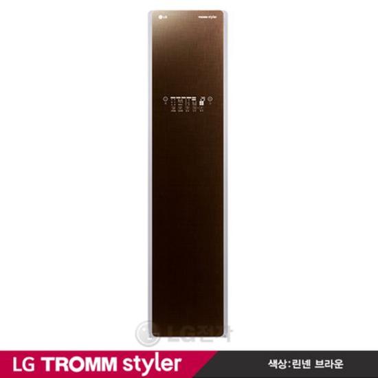 [K쇼핑][LG]TROMM 스타일러 신개념 의류관리기기 S3RER [우측문열림/린넨브라운], 단일상품