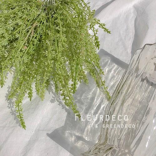플레르데코 인테리어 꽃 소품 감성소품 조화 코키아부쉬(4color), GREEN