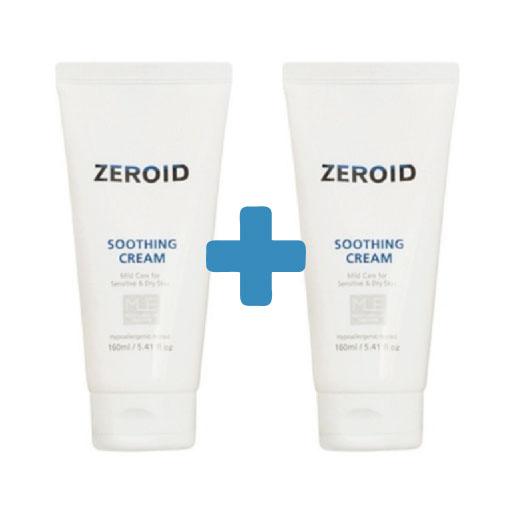 제로이드 네오팜 ZEROID 수딩 크림 160ml 1+1 데이, 1개