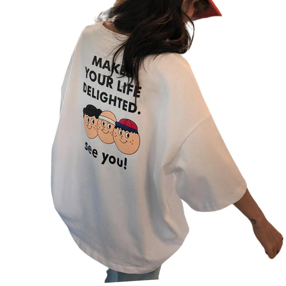 리더스타 여성티셔츠 여성반팔티 루즈핏 여성티셔츠 반팔 티셔츠
