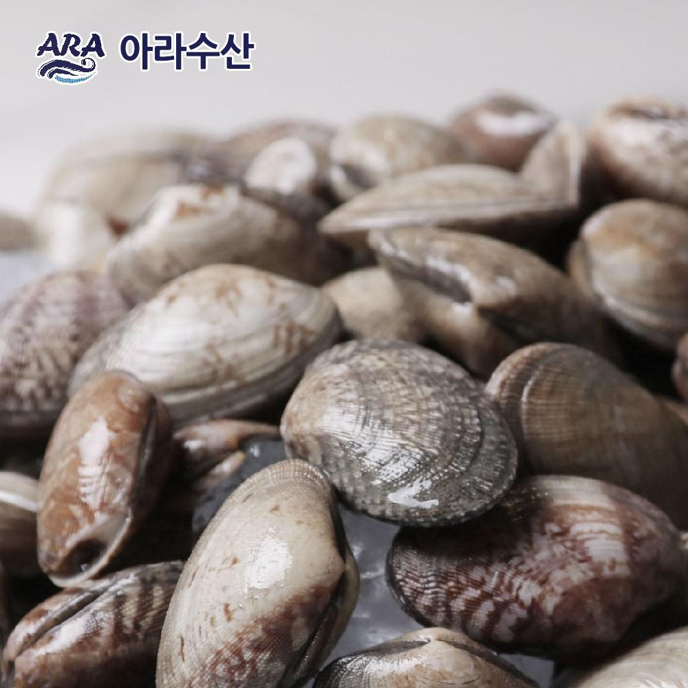 [아라수산] 국내산 바지락 10kg, 1개