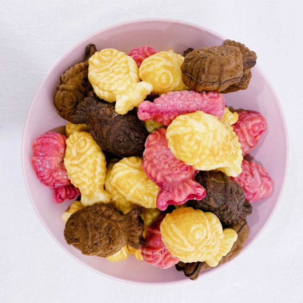 아이들간식 어린이간식 미니붕어빵 타이야키 에어프라이어 5종 통팥 슈크림 치즈 초코 고구마