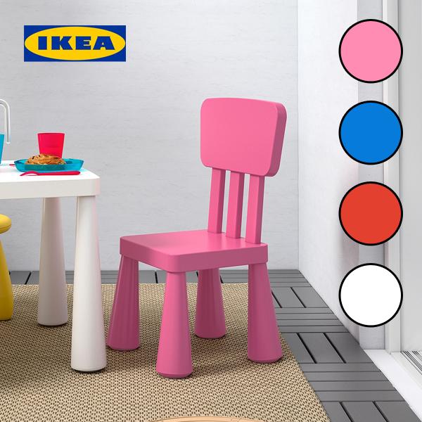 이케아 MAMMUT 맘무트 어린이 의자, 1.화이트 903.653.64