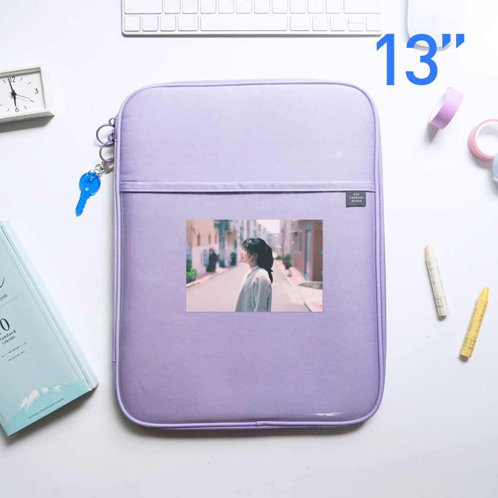 초여름 클리어 포켓 태블릿PC 아이패드 3세대 4세대 13인치 파우치, 라벤더-5-2068896431