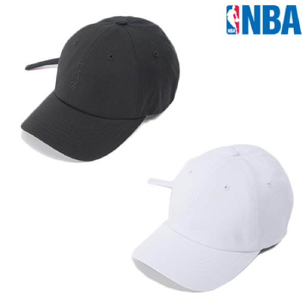 [현대백화점][NBA] N195AP442P 공용 세로자수 커브 캡 모자