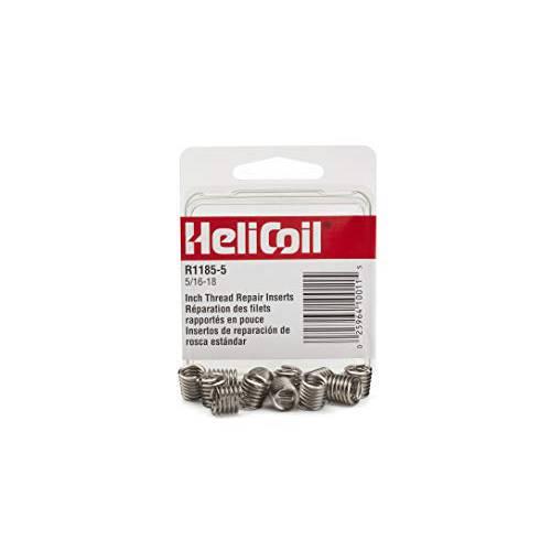 헬리 코일 R11855 5 / 16-18 삽입물 / Pk 12 Helical Insert 304SS 5/16-1