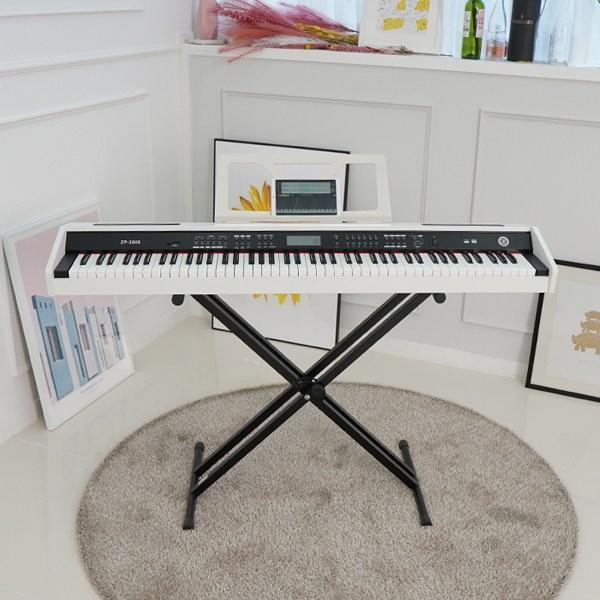 Z 피아노 전자피아노 ZP3000 디지털피아노 피아노 교육용 프로그램무료 화이트