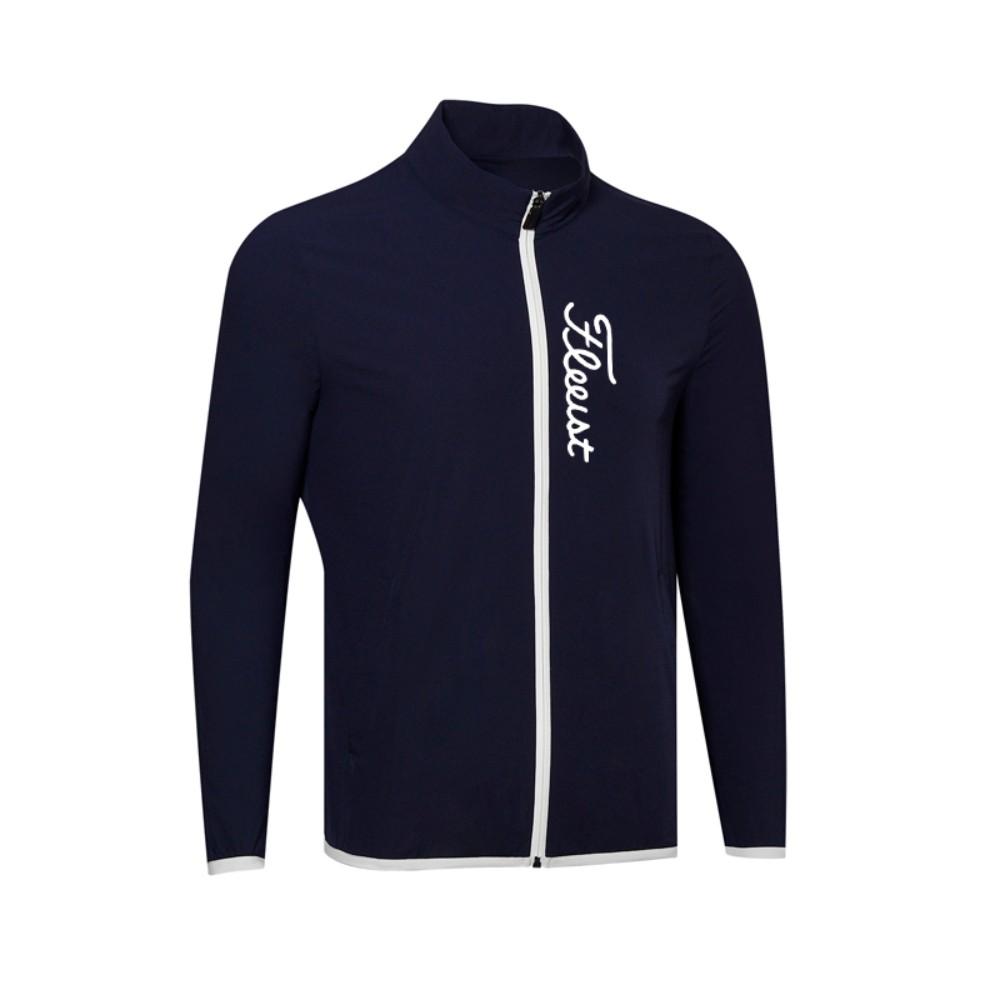 남자골프바람막이 골프웨어 비옷 레인자켓 간절기, 로얄 블루