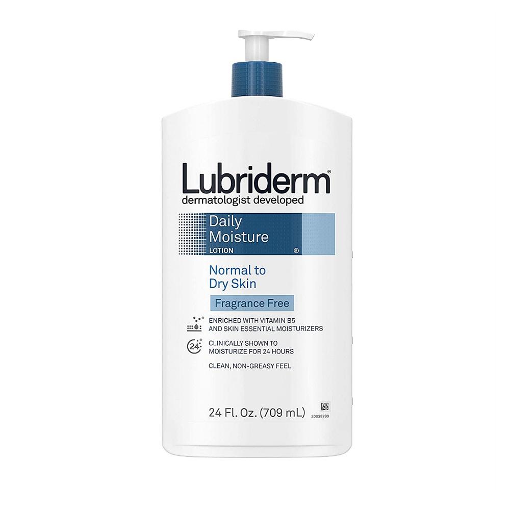 (번들) 루브리덤 데일리 모이스처 로션 무향 중성 건성용 709ml 2개 Lubriderm Daily Moisture