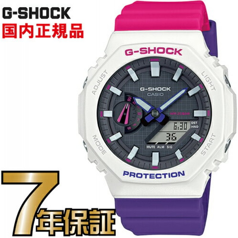 G-SHOCK G충격 아날로그 GA-2100THB-7AJF카본 코어 가드 구조 CASIO손목 시계(국내 정품]남성