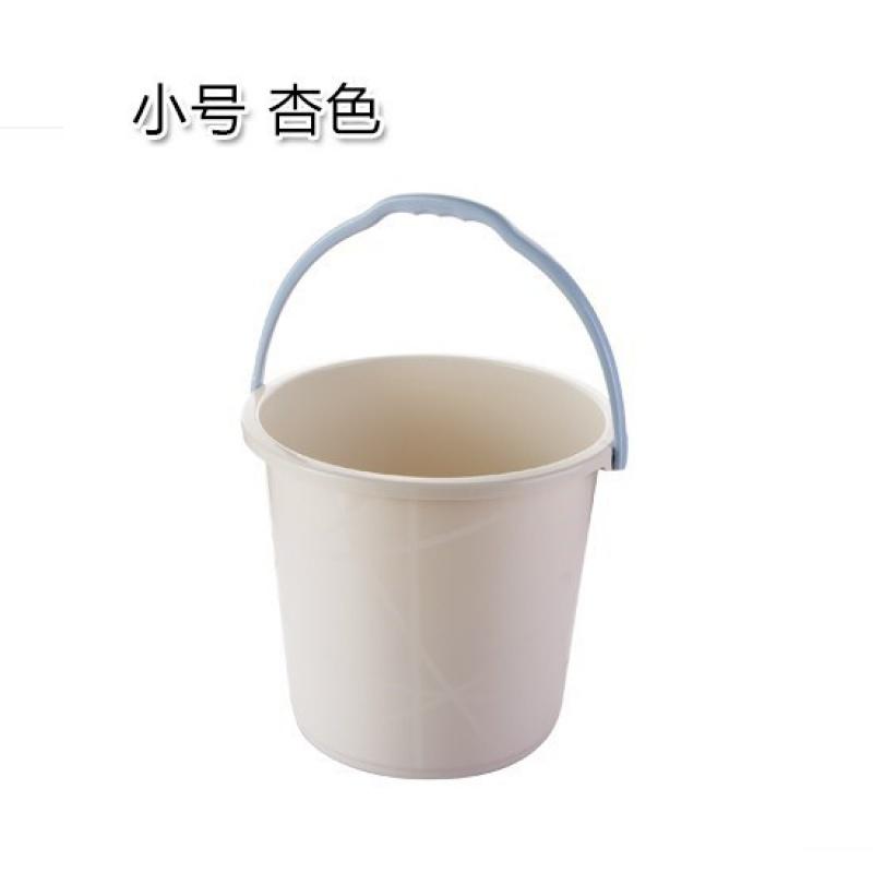 가정용 세차 라지 통 물통 저장 포터블 두꺼워 플라스틱 드럼통 숙성제, 트럼펫 살구색