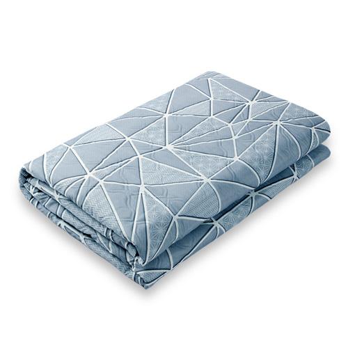 한일 전기요 침대용 거실용 캠핑용, 중형(100cm × 180cm), 크로크 그레이