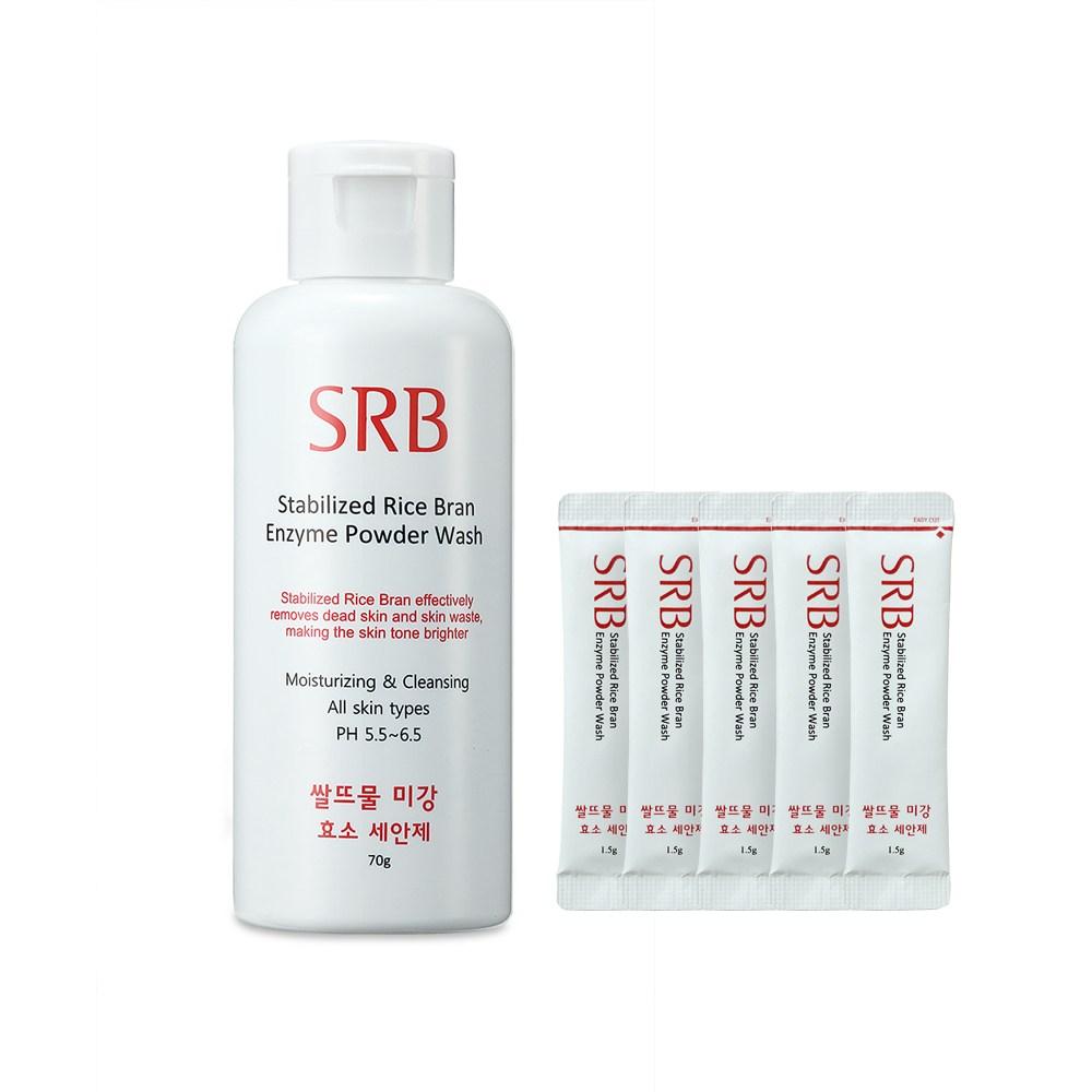 SRB 쌀뜨물 미강 효소 세안제(샘플 증정 이벤트), 70g, 1개