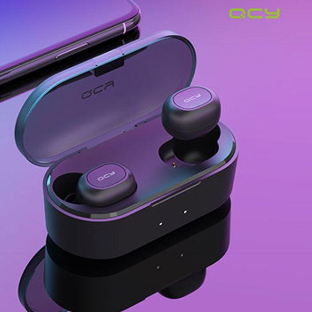 ksw97240 QCY 정품 TWS T2C 5.0 블루투스 이어폰 200개 인쇄무료