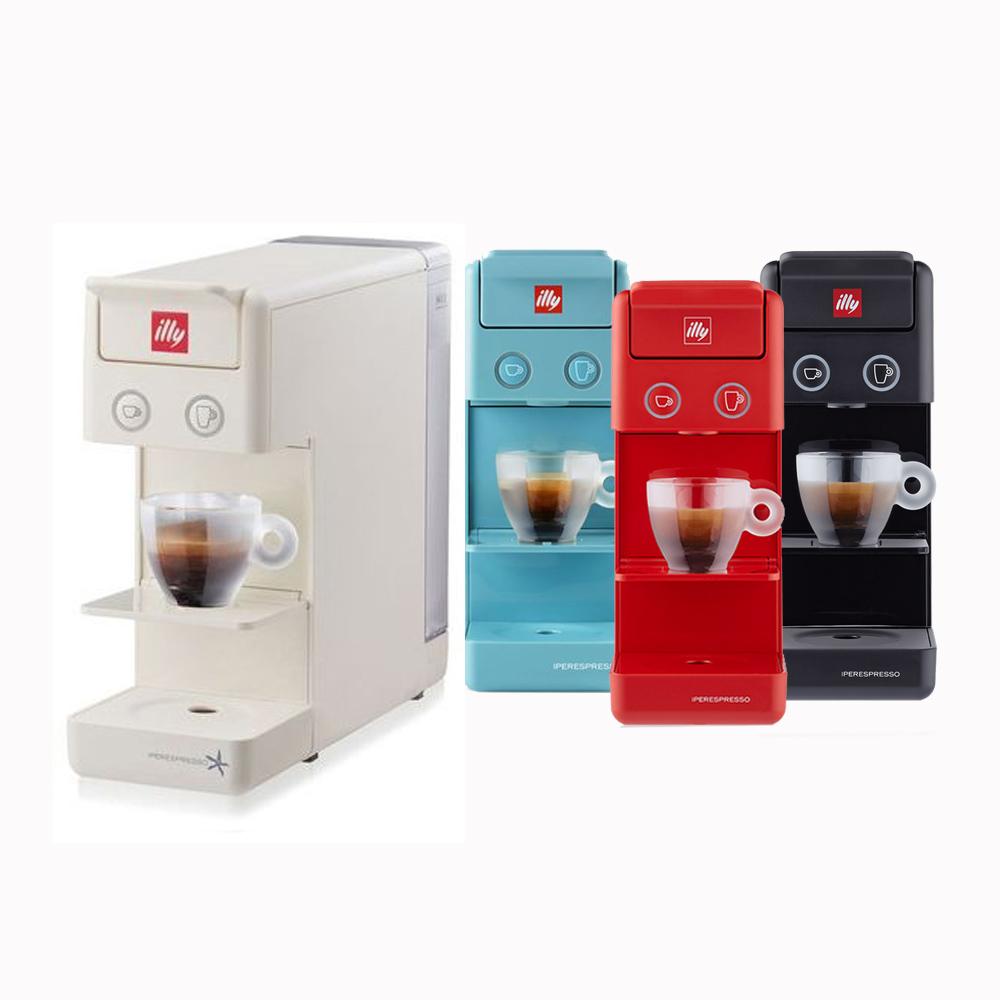 일리 Y3.3 프란시스 캡슐 커피머신+14샘플캡슐 증정 (화이트 블랙 블루 레드)