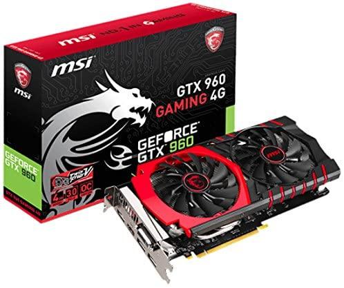3.예상수령일 2-6일 이내 MSI GeForce GTX960 탑재 비디오 카드 GTX960 GAMING 4G B00UHHXXH8 일본아마존, 상세 설명 참조0