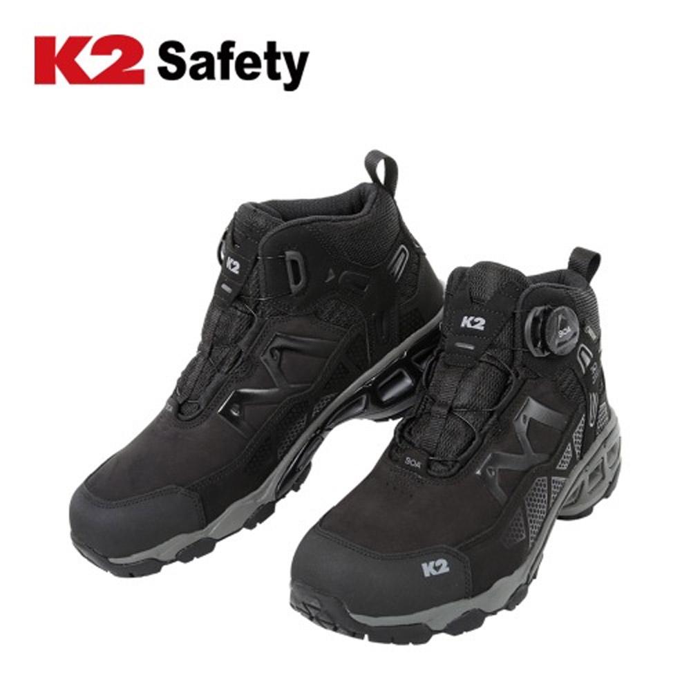 D 안전화 K2 Safety 미라클 현장화(선심X) (6인치) K2안전화 남성 여성 작업화 경량안전화 남자 여자 DO