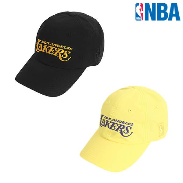 [현대백화점][NBA]엔비에이 N205AP257P 공용 빅 레터링 커브 캡 모자