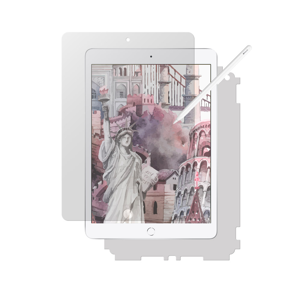 알럽스킨 아이패드 10.2 7세대 종이질감 액정보호필름, 종이질감 액정필름