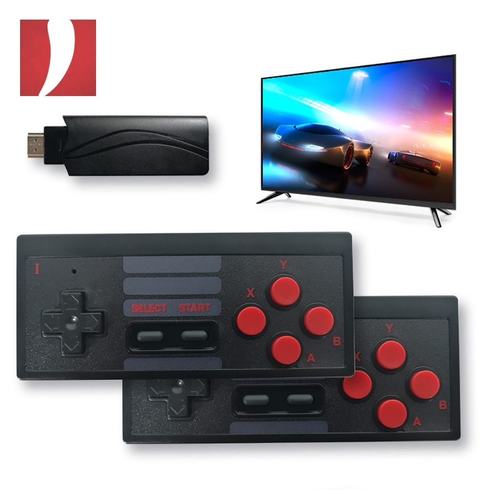 페퍼클럽 선도 없고 본체도 없어 깔끔한 레트로FC Y2-HD 무선 TV연결 레트로 게임기