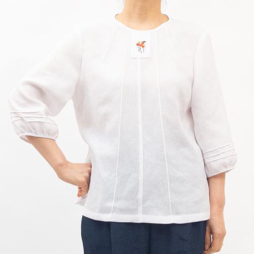 여성 인견 생활한복 자수보인트 7부 블라우스 (POP 5335623643)