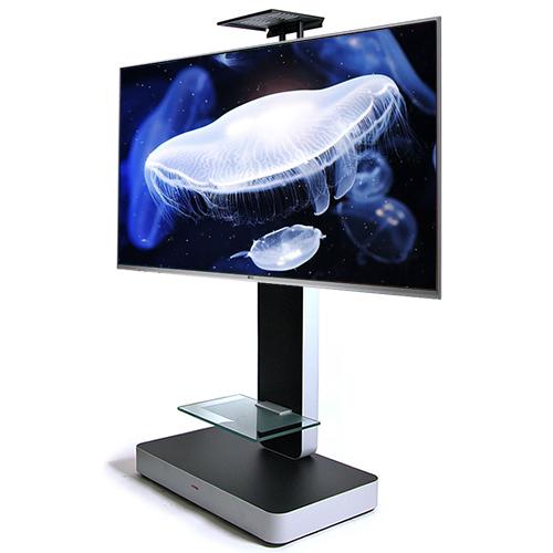 이동식 TV스탠드 (32~75인치용) PA-1200, PA-1200강화유리선반+카메라선반 (POP 227005316)