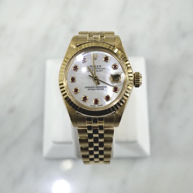 롤렉스 6917 18K금통 데이저스트 26mm 여성 시계aa03317