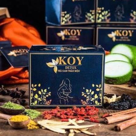 (할인+무료배송)베트남 코이캡슐 KOY detox, 1개, 150g