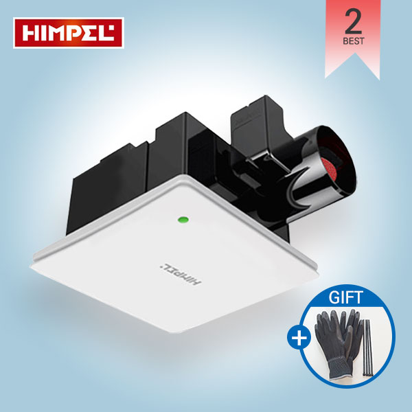 [힘펠] 강력 제로크환풍기_HV3-80X 저소음 정풍량 냄새차단, HV3-80X