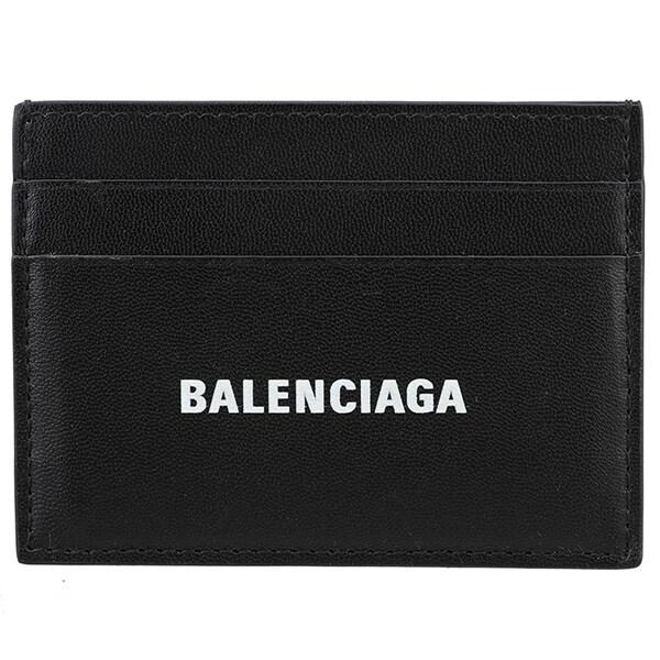 [Balenciaga][발렌시아가]20FW 594309 1I353 1090 남녀공용 로고 카드 케이스-24-1832547337