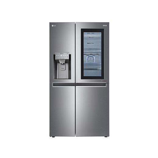 LG전자 J612SS75 얼음정수기 양문형냉장고 607L