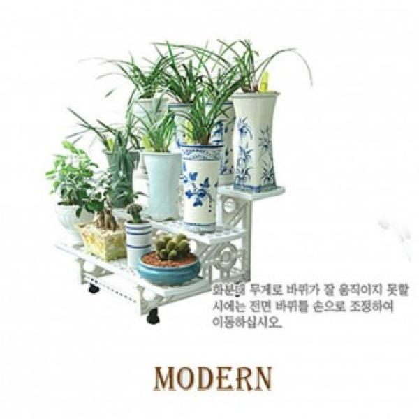 이동식 모던 화분정리대 3단