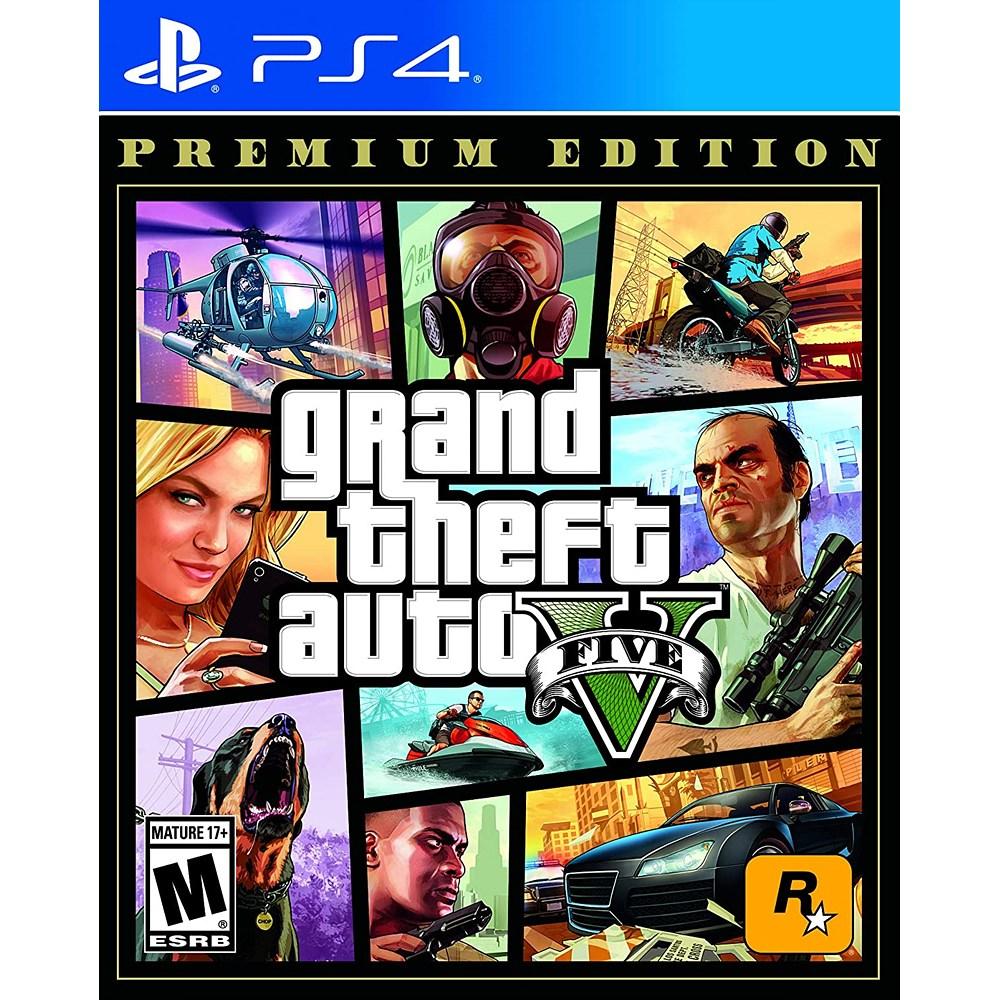GTA 5 Grand Theft Auto V - PS4, 단일상품