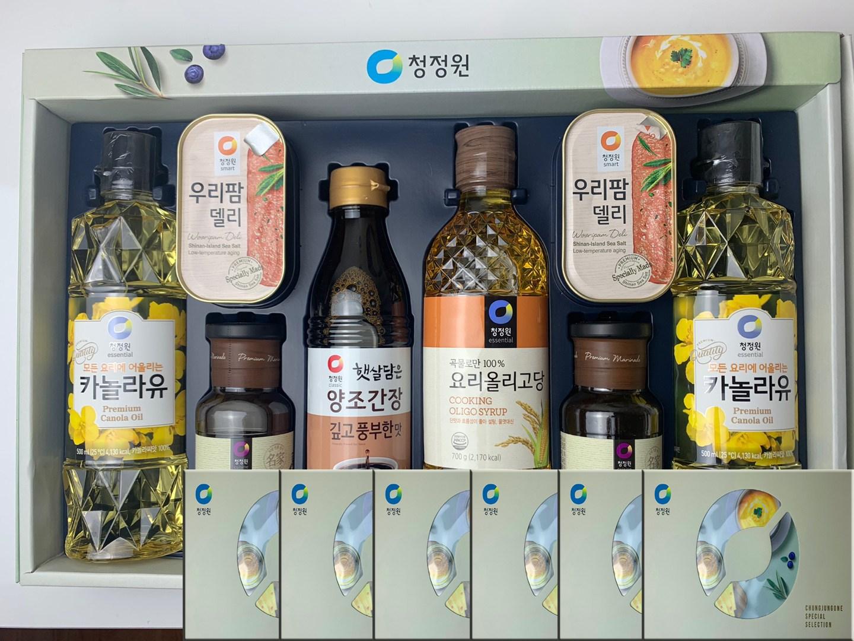 청정원 추석선물세트 스페셜8호 3세트 x2박스 소갈비양념, 단일상품