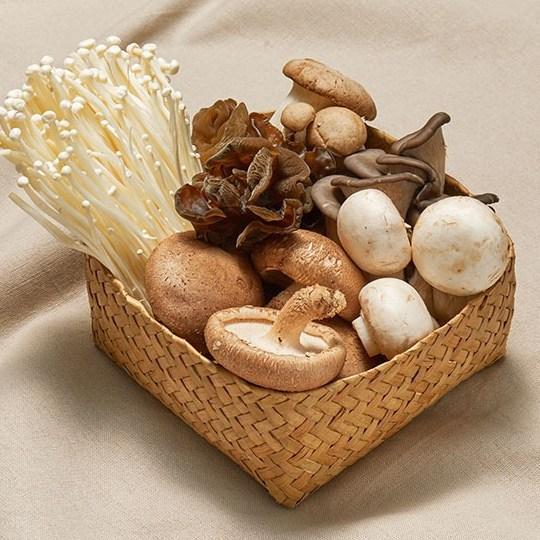 버섯정원 구이용모둠버섯, 1팩, 400g