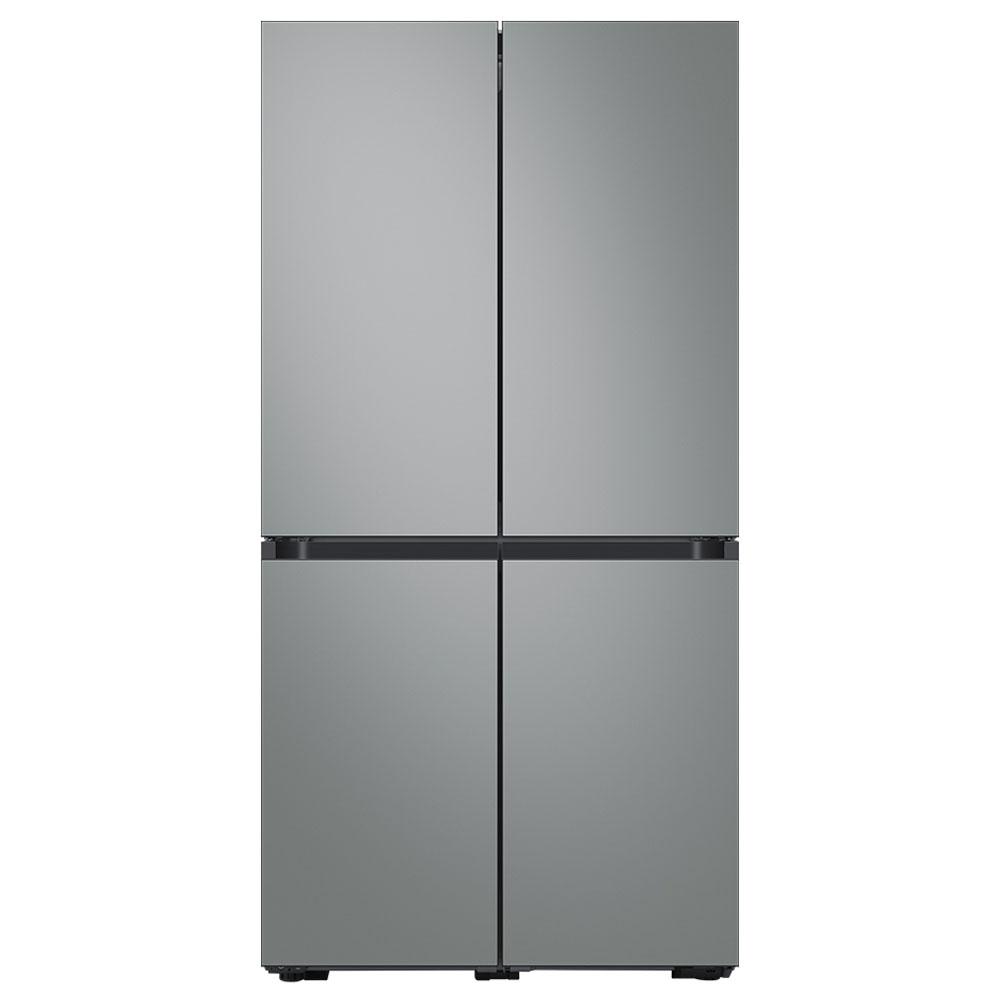 삼성전자 비스포크 키친핏 냉장고 RF61T91R231 (RF61T91R2AP) 새틴 그레이, 단일모델