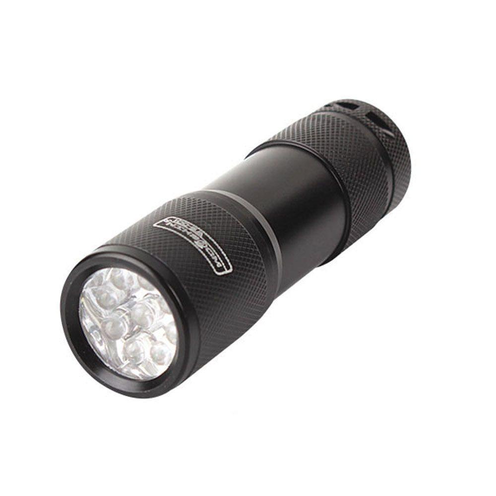 OT 우신 9구 LED 후레쉬 휴대용 캠핑 AAA-3 오토캠핑장 써치라이트 1개