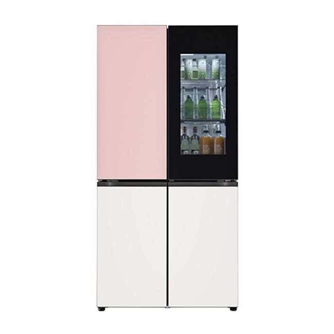 LG전자 M870GPB451 오브제컬렉션 냉장고 1등급 글라스