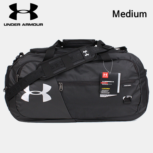 underarmour 가방 스포츠가방 UA 언디나이어블 4.0 미디엄 더플백 BU-J 블랙-9-319881520