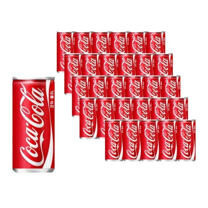 코카콜라 215ml × 30캔 캔콜라 탄산음료, 단품