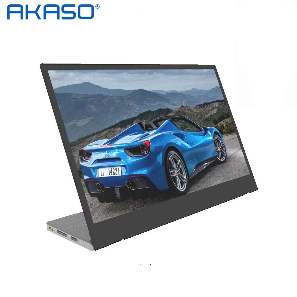 아카소 AKaso 2021 1080P IPS 슈퍼 라이트 휴대용 모니터, 플래그십 스타일