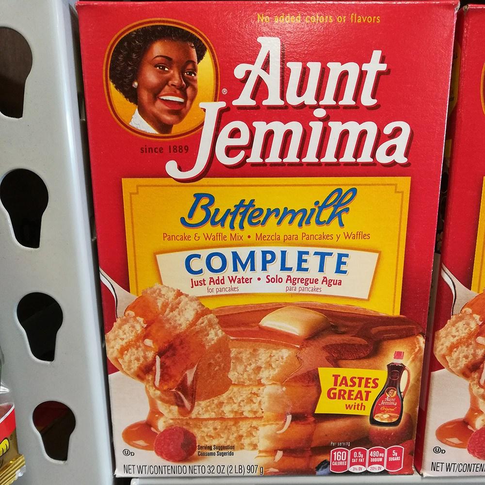 Aunt Jemima 앤트 제미마 버터밀크 팬케이크&와플 믹스 세트, 1세트, 907g