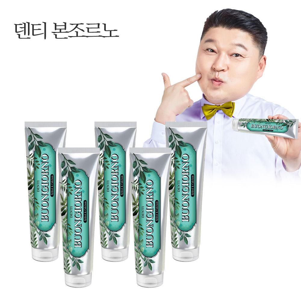 덴티본조르노 구취치약 (170g 5개)/치약추천/칫솔추천, 단품