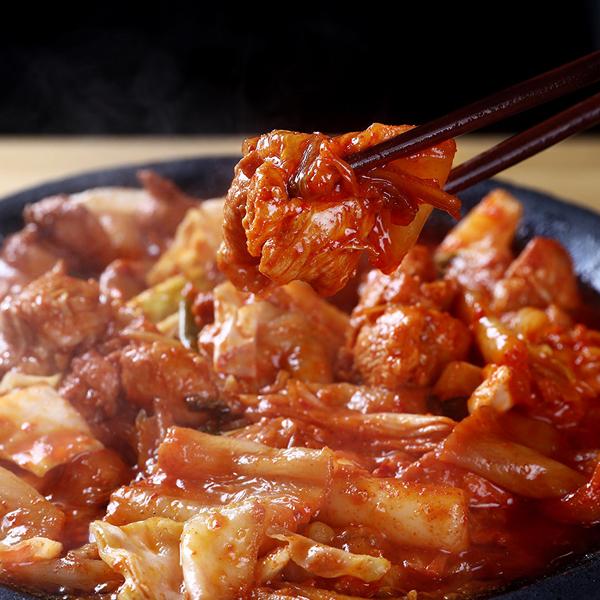 푸딩팩토리 닭갈비, 김치닭갈비 500g