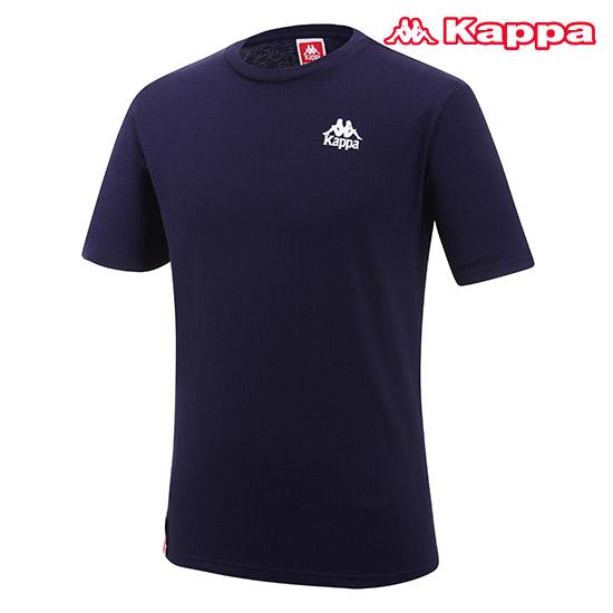 카파 남녀공용 어센틱 컬렉션 반팔 티셔츠 KJRS251MN_NVY
