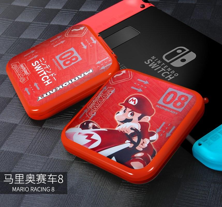 닌텐도 스위치 Enoch Nintendo 스위치 액세서리 게임기 수납 가방 호스트 게임 카드 가방-20740, 단일옵션, 옵션07