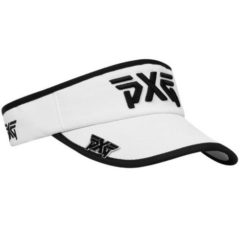 골프모자 골프캡 필드모자 PXG프리사이즈 볼마커포함 남녀공용, 하얀-6-2035007867